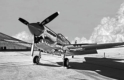Photograph - P-40 Warhawk - Flying Tigers by Weston Westmoreland