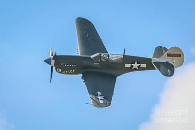 Photograph - P-40 Warhawk by Tom Claud