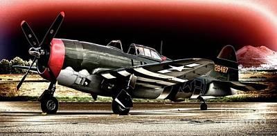 Photograph - P-47 Thunderbolt Bolted by Gus McCrea