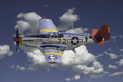 Photograph - P-51 B Mustang Macon Belle by Alan Toepfer