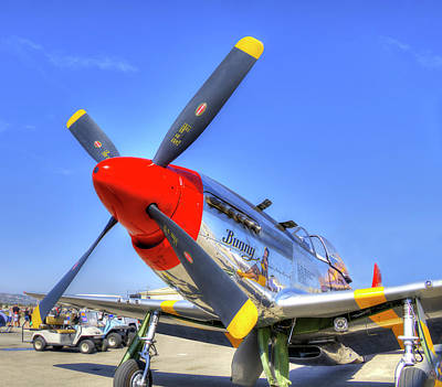 Photograph - P-51 by Joe  Palermo