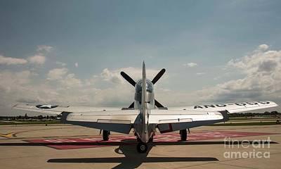 Photograph - P-51 Mustang by David Bearden