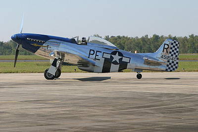 P-51 Mustang Art Print by Donald Tusa