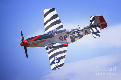 Photograph - P-51 Mustang Fighter by Jerry Cowart