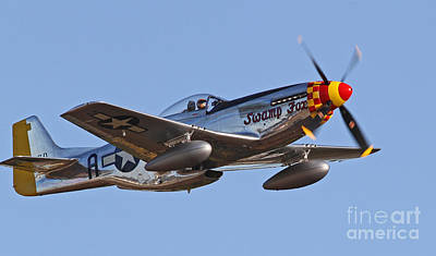 Photograph - P-51 Mustang Fighter by Kevin McCarthy