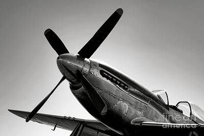 Photograph - P-51 Mustang by Olivier Le Queinec