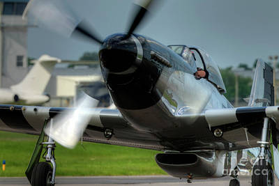 Photograph - P-51 Mustang by Rick Mann
