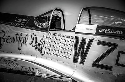 Photograph - P-51 Mustang - Series 1 by Eric Miller