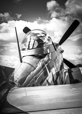 Photograph - P-51 Mustang Series 2 by Eric Miller