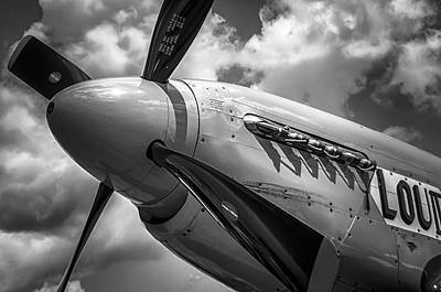 Photograph - P-51 Mustang Series 3 by Eric Miller