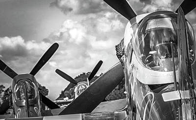 Photograph - P-51 Mustang - Series 4 by Eric Miller