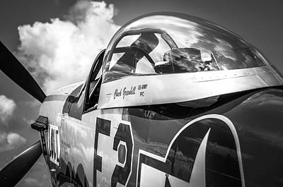 Photograph - P-51 Mustang - Series 5 by Eric Miller