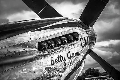 Photograph - P-51 Mustang - Series 6 by Eric Miller