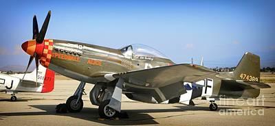 P-51 Mustang Speedball Alice Art Print
