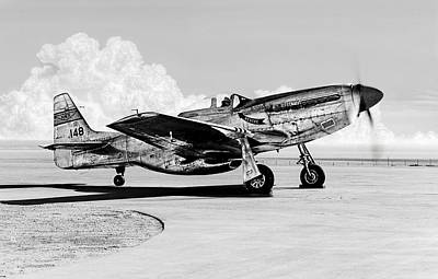 Photograph - P-51 Mustang by Weston Westmoreland