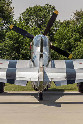 Photograph - P-51d Mustang In The Sun by Liza Eckardt