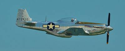 Photograph - P 51d Mustang by William Bartholomew