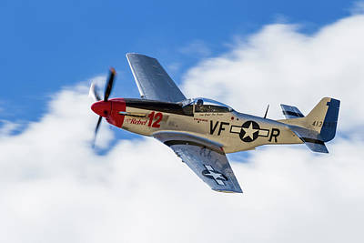 P-51 The Rebel Art Print