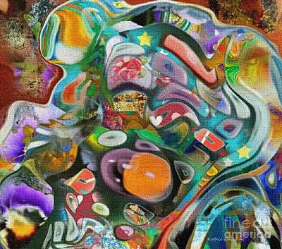 Digital Art - Dreaming In Color by Kathie Chicoine