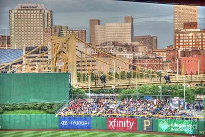 Photograph - P N C Park And Clemente Bridge by David Bearden