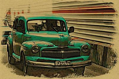 Photograph - P One Seven One In Havana by Alice Gipson