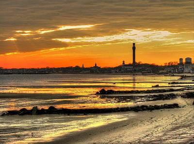 Photograph - P Town Sunset by John Nielsen
