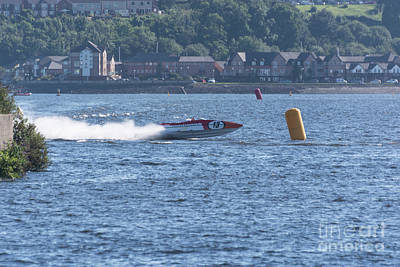 Photograph - P1 Powerboats 3 by Steve Purnell