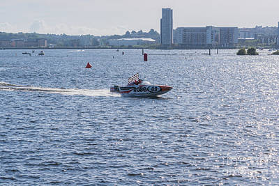 Photograph - P1 Powerboats 4 by Steve Purnell
