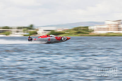 Photograph - P1 Powerboats 6 by Steve Purnell