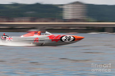 Photograph - P1 Powerboats 7 by Steve Purnell