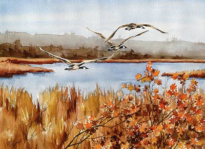Painting -   On The Fly by Art Scholz