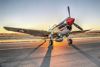 Photograph - P40 Warhawk At Sonoma by John King