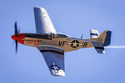 Photograph - P51d Mustang At Reno Air Races by John King