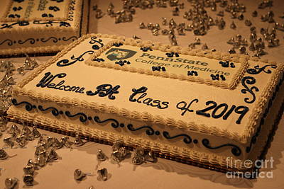 Photograph - Pa 2019 Class White Coat Cake by John Stephens