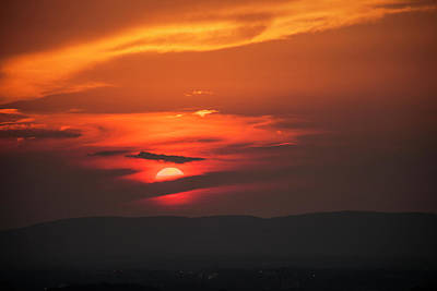 Photograph - Pa Sunset by Amy Warr