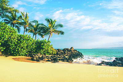 Photograph - Paako Beach Honuaula Makena Maui Hawaii by Sharon Mau