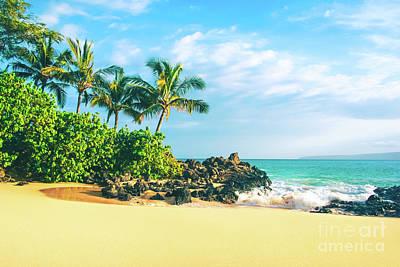 Photograph - Paako Beach Honuaula Makena Maui Hawaii by Sharon Mau