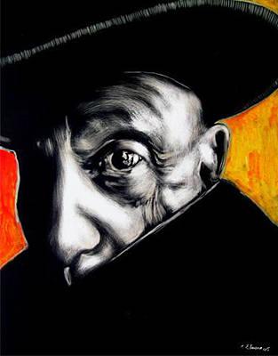 Pablo Art Print by Chester Elmore
