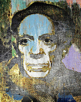 Pablo Picasso 2 Art Print by Tony Rubino