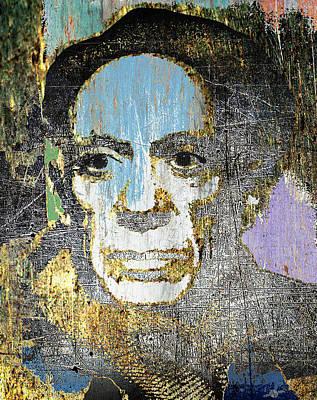 Mixed Media - Pablo Picasso 2 by Tony Rubino