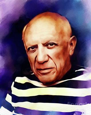 Rusty Trucks - Pablo Picasso, Artist by Esoterica Art Agency