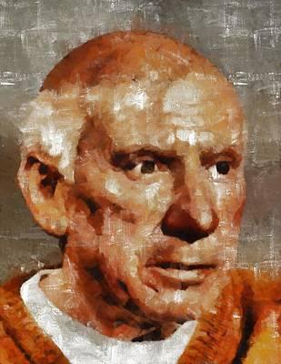 Pablo Picasso, Artist Art Print by Mary Bassett