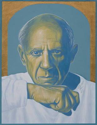 Painting - Pablo Picasso by Jovana Kolic
