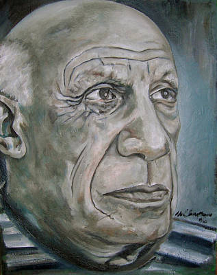 Painting - Pablo Picasso by Martel Chapman