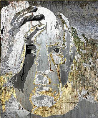 Mixed Media - Pablo Picasso by Tony Rubino