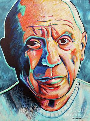 Painting - Pablo Picasso by Venus