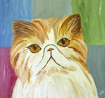 Painting - Pablo by Victoria Lakes