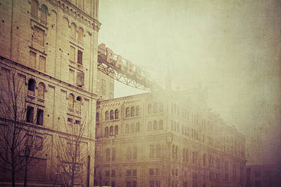 Photograph - Pabst Milwaukee Brewery by Joel Witmeyer