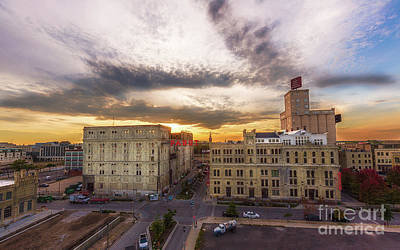 American Milestones - Pabst Sunset by Andrew Slater