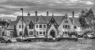 Photograph - Pace Academy B W Buckhead Private School Art by Reid Callaway
